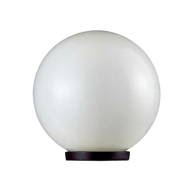 Post Bollard Top Light Opal or Smoke Sphere E27 in 20cm 25cm 30cm 40cm Domus Lighting | Alpha Lighting & Electrics