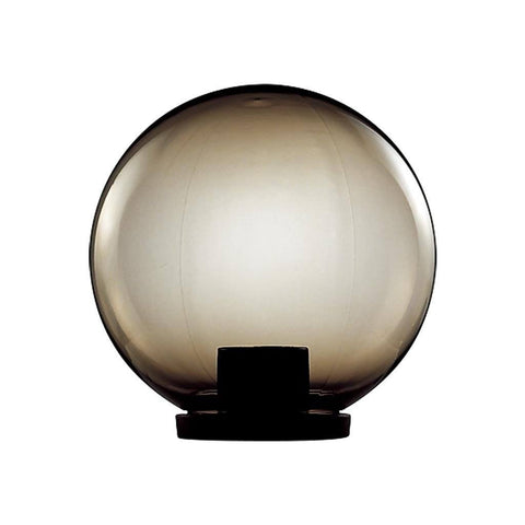 Post Bollard Top Light Opal or Smoke Sphere E27 in 20cm 25cm 30cm 40cm Domus Lighting
