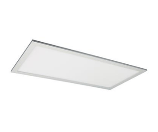 Domus Lighting PANEL-306 Rectangular 36W LED Panel Light - Natural Anodised Aluminium Frame