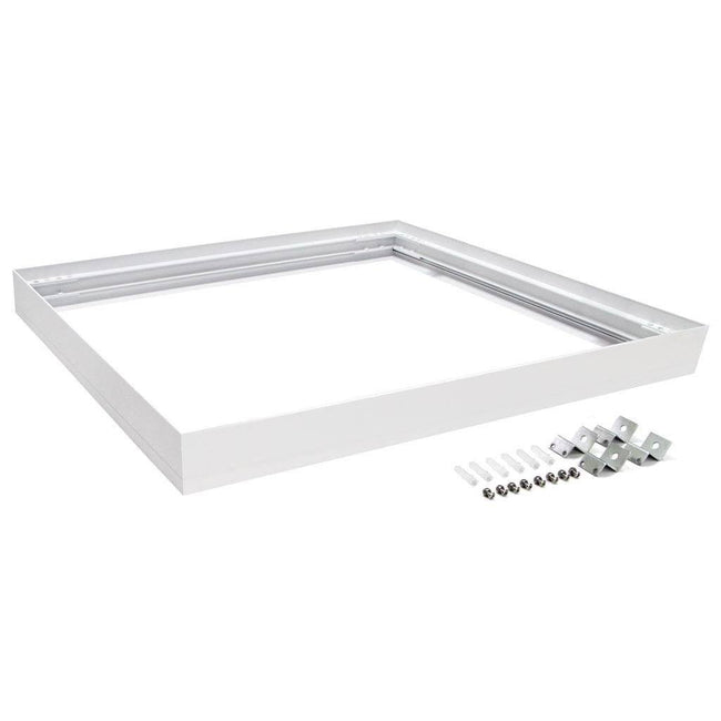 Domus Lighting SM KIT-303 Square Surface Mounted Panel Frame - White Finish