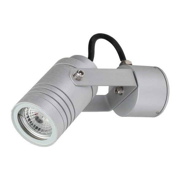 Elite-Adjustable 240V LED Spotlight - Aluminium Finish (Body Only) Domus Lighting