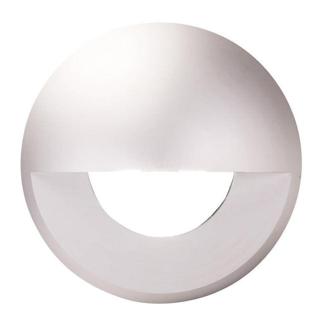 Deka Round Eyelid Cover to Suit Deka-Body - Anodised Aluminium Cover Only Domus Lighting