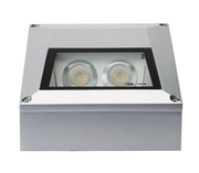 LED Step Light Surface Mounted Outdoor Square 3W in 3000K or 5000K Domus