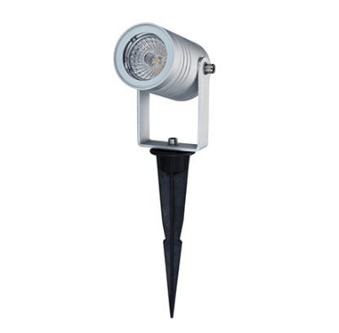 LED Spike Light Aluminium MR16 6W 12V in 3000K or 5000K Elite Domus Lighting