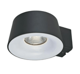 LED Wall Light 10W 240V in Silver and Dark Grey 16cm Cup in 3K and 5K Domus Lighting | Alpha Lighting & Electrics