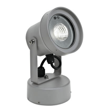 LED Spot Light Silver or Grey in 12W 12cm Vision in 3K or 5K Domus Lighting