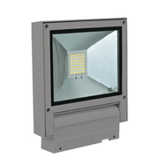 Domus Lighting FLASH-20 Adjustable 240V 20W LED Floodlight - Silver Finish