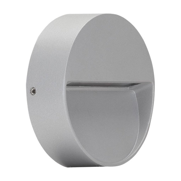 LED Round Silver D-Grey or White in 3W 10cm Mini Eye Zeke in 3K and 5K Domus Lighting