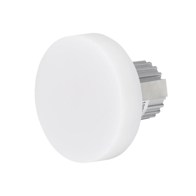 LED Step Light Round Opal 3W in 6K and 3K 7cm Chill Domus Lighting