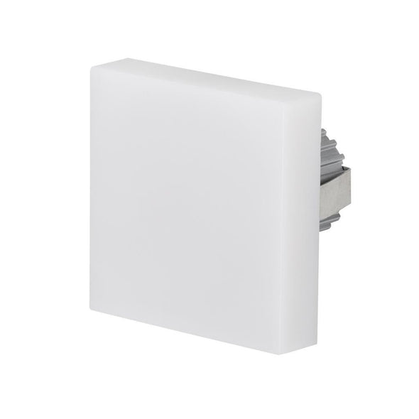 LED Step Light Square Opal 3W in 6K or 3K 7cm Chill Domus Lighting