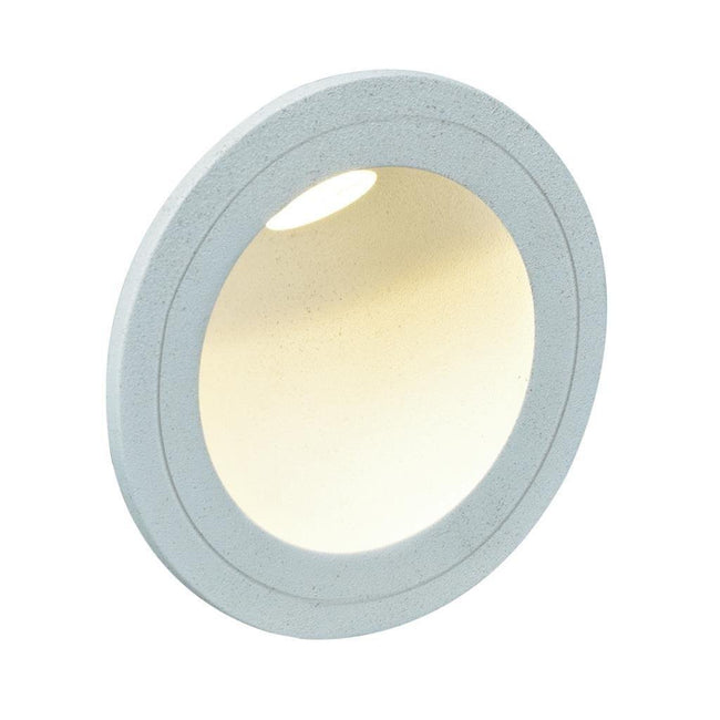 LED Step Light Outdoor Round You White in 3W 240V Domus Lighting | Alpha Lighting & Electrics