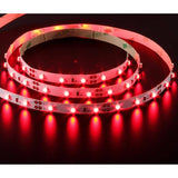 LED Strip Light in 4.8W 1M Flexi Strip in Blue Green Red and Amber Domus Lighting