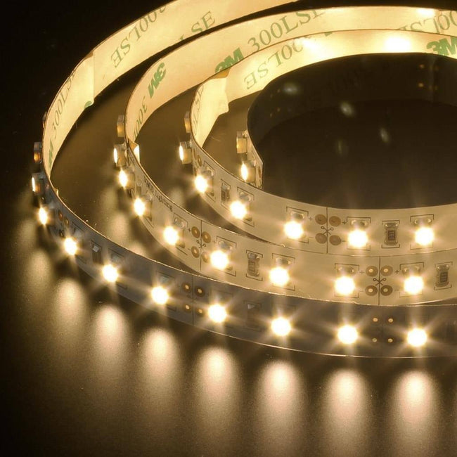 LED Strip Light in 7.2W 1M 12V Flexi Strip in 4000K 6500K and 3200K Domus Lighting