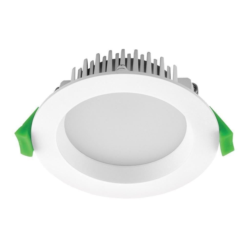 Domus Lighting DECO-13 Round 13W Dimmable LED Downlight - White Frame