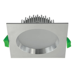 Domus Lighting DECO-13 Square 13W Dimmable LED Downlight - Aluminium Frame | Alpha Lighting & Electrics