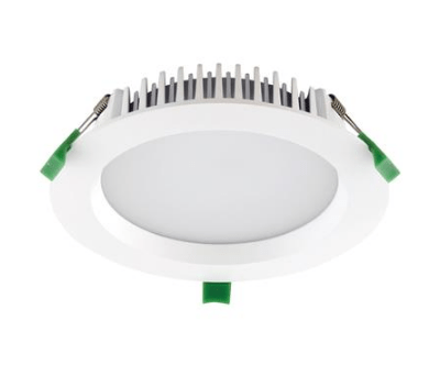 Domus Lighting DECO-20 Round 20W Dimmable LED Downlight - White Frame | Alpha Lighting & Electrics