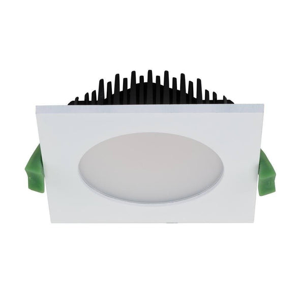 LED Downlight Square Trim Dimmable 13W 3000K or 5000K Splash Domus Lighting