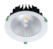 Domus Lighting NEO-35 Round 35W Dimmable LED Downlight - White Frame | Alpha Lighting & Electrics