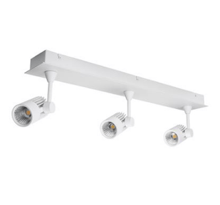 LED Spot Light Three Bar Dimmable 30W 240V in White or Silver 63cm Jet in 3K or 5K Domus Lighting