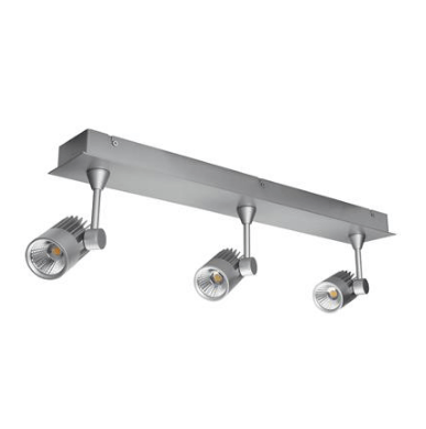 LED Spot Light Three Bar Dimmable 30W 240V in White or Silver 63cm Jet in 3K or 5K Domus Lighting | Alpha Lighting & Electrics
