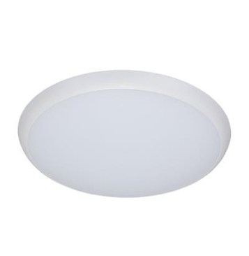 Domus Lighting Solar-400 Round 35w Slimline LED Ceiling Light - White Frame