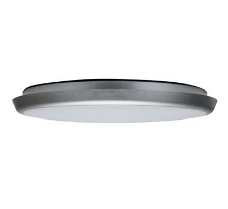 Domus Lighting Solar-400 Round 35W Slimline LED Ceiling Light - Silver Frame