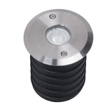 Domus Lighting Magneto 3W LED Induction Inground Light 24V 316 Stainless Steel - Narrow Beam 25°