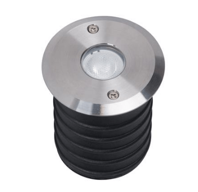 Domus Lighting Magneto 3W LED Induction Inground Light 24V 316 Stainless Steel - Wide Beam 40° | Alpha Lighting & Electrics