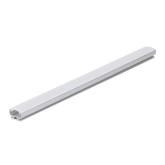 Opti-Line-SM Surface LED Profile - Natural Clear Anodised Finish/Clear Diffuser in Clear and Opal Domus Lighting | Alpha Lighting & Electrics