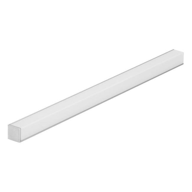 Mounting Profile Aluminium w Opal Diffuser 100cm Quad Line Mini Domus Lighting