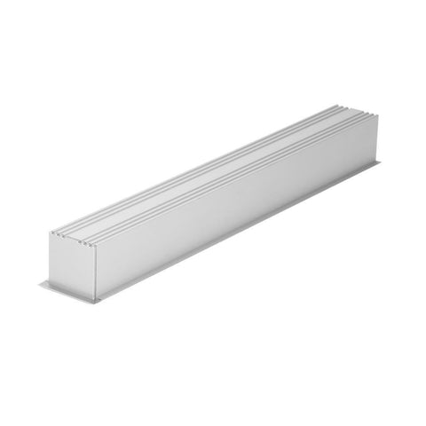 Mounted Profile Recessed Aluminium w Frost Diffuser 100cm Omega Domus Lighting