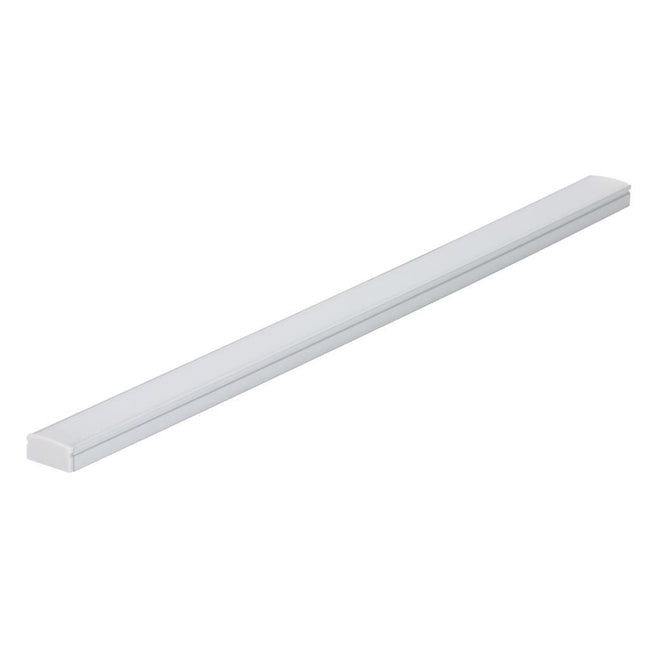 Nova-Line-SM Surface Mounted LED Profile - Natural Clear Anodised Finish Domus Lighting