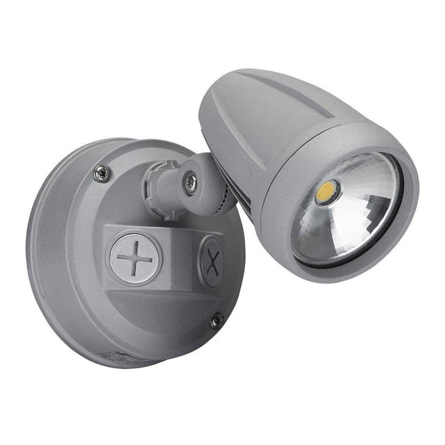 LED Spot Light Exterior 13W in Black Silver or White Muro Domus Lighting