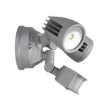 Domus Lighting MURO-30S Twin Head 30W LED Spotlight with Sensor - TRIO Tricolour | Alpha Lighting & Electrics