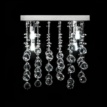 LED Pendant Crystal Light Starlight Domus Lighting