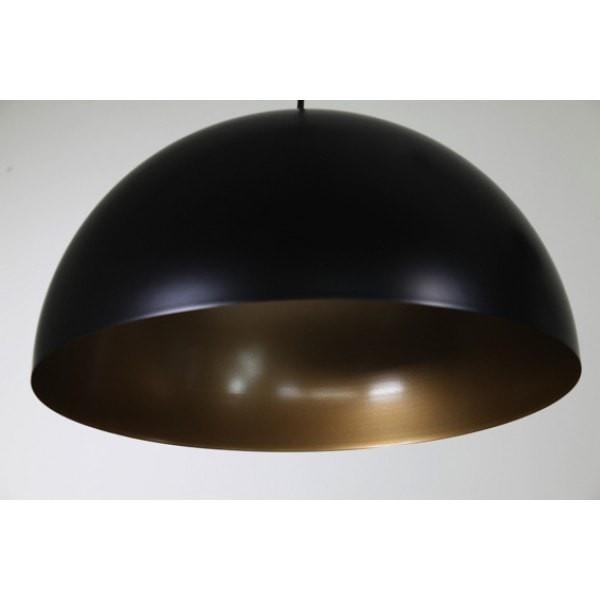 Helios Pendant Black, Black Gold or White Metal 50cm She Lights - Alpha Lighting & Electrics
