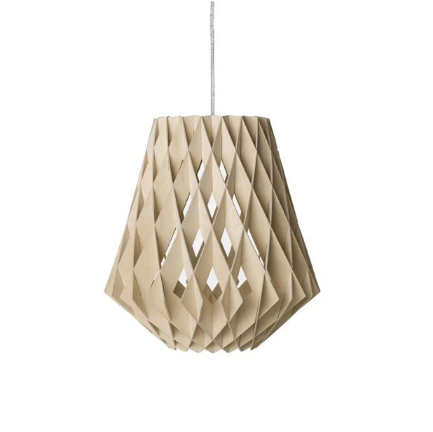 Replica Tuukka Halonen Pilke Pendant Light in Black White or Natural Birch 36cm