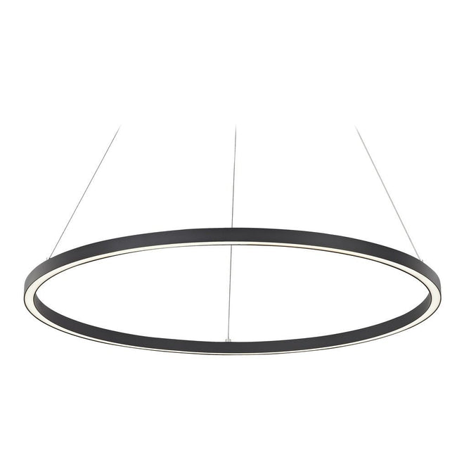 Architectural LED Single Ring Pendant Light 150cm