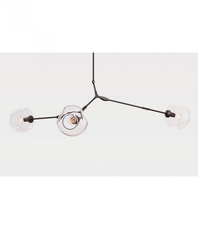 3 Arm Branching Bubble Chandelier by Lindsey Adelman - Alpha Lighting & Electrics