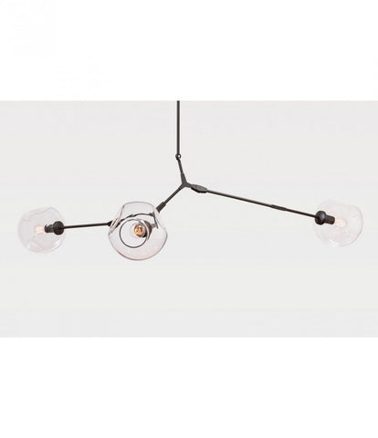 Replica 3 Arm Branching Bubble Chandelier by Lindsey Adelman