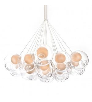 Replica Bocci Chandelier Light Round 28.19 Clear Glass