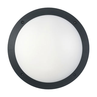 CLA Lighting LED Bulkhead 12W Round Light in Black and White