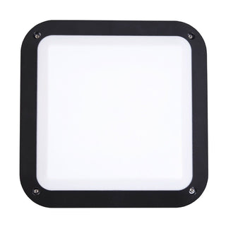 CLA Lighting LED Bulkhead 12W Square Light in Black and White