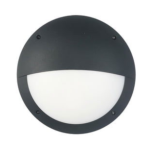 CLA Lighting LED Bulkhead 12W Round Eyelid Light in Black and White