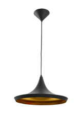 CLA Lighting Caviar Matt Black Modern Metal Pendant