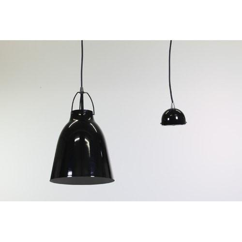 Cilla Glossy Black Pendant Light She Lights | Alpha Lighting & Electrics