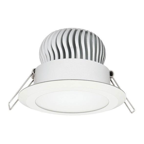 Mercator Equinox 11W Fixed LED Downlight White Frame