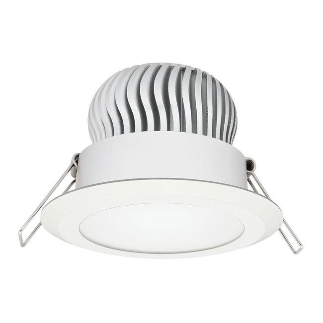 Mercator Equinox 16W Fixed LED Downlight 3000K White Frame
