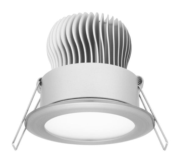 Mercator Equinox 11W Fixed LED Downlight Polished Aluminium Frame