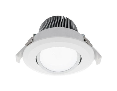 Mercator Equinox 16W Gimble LED Downlight 5000K White Frame